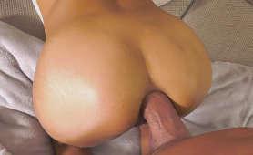 Gruby penis w ciasnym odbycie blondynki w pozycji na pieska - Veronica Leal, Sex Hd