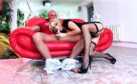 Porno Sex Darmo - Aleska Diamond, Bielizna W Siatkę Rybacką