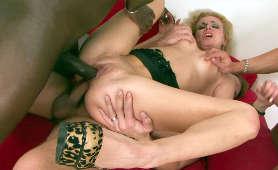 Sex z 4 mężczyznami - Anita Vixen, Podwójna Penetracja
