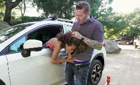 Sex filmy robienie laski przy samochodzie - Cecilia Lion, Sex Na Zewnątrz