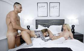 Sex z dwiema kobietami - Destiny Cruz, Tana Waters, Sex W Trójkącie