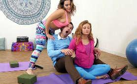 Sex podczas jogi - Natasha Nice, W Legginsach