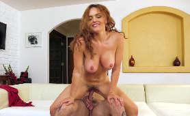 Duże cycki seksownej, rudej mamuśki - Krissy Lynn, Mamuśka