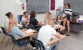 Fajne laski w szkole - Adriana Chechik, Kimmy Granger, Sex Hd