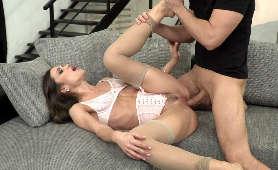 Macocha seks - Alyssa Reece, Podwiązka